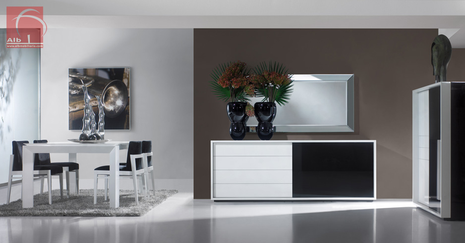 Mueble comedor 1005 7 alb mobilirio e decorao paos de ferreira capital do mvel - Muebles de comedor modernos ...