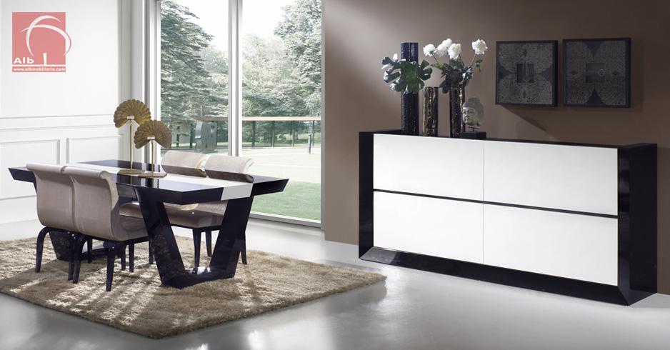 Sala de jantar alb mobili rio e decora o pa os de ferreira capital do m vel - Paredes lacadas ...