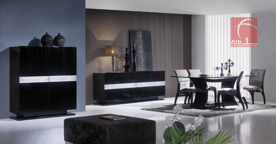Sala de jantar alb mobili rio e decora o for Mesas auxiliares para sala modernas