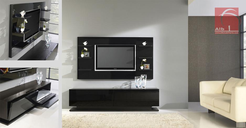 Mueble de saln modernos muebles para el televisor for Muebles de sala para tv modernos