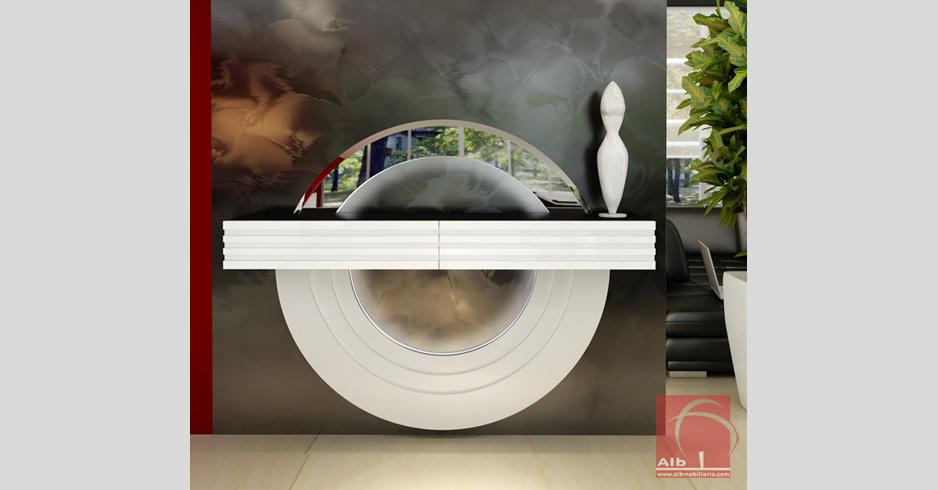 Mueble recibidor tienda online de muebles for Mueble entrada moderno