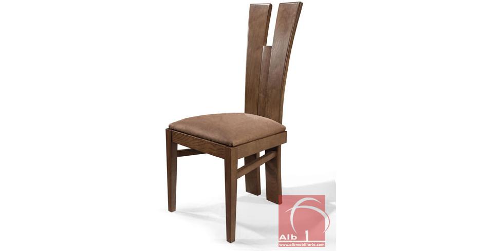 silla comedor respaldo alto