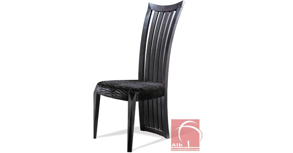 Silla comedor respaldo alto venta de sillas fabrica de for Comedor alto