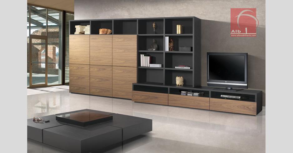 Mueble de saln mobiliario saln modulares for Muebles salon tv modernos