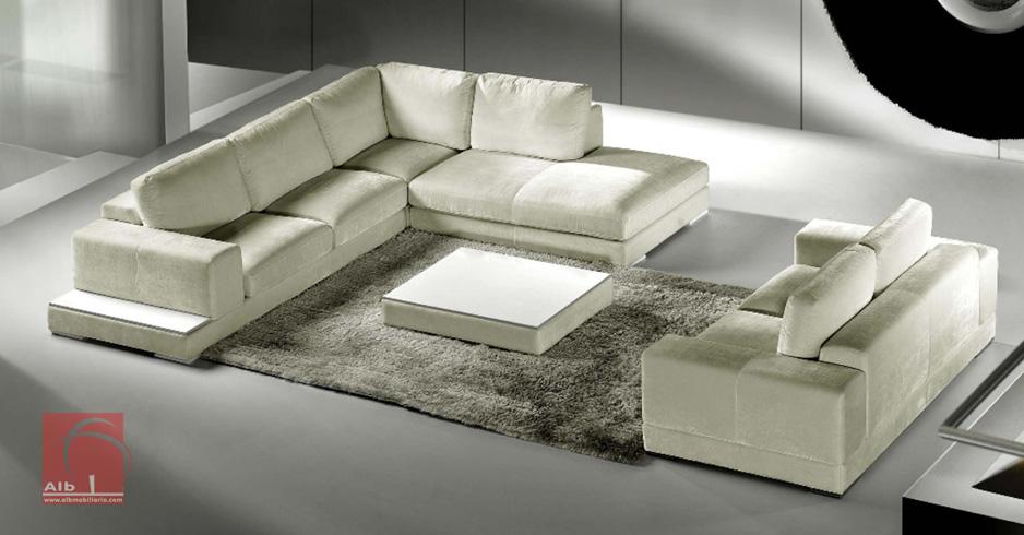 Sof de canto e de 2 lugares sofs modernos sofs de - Sofas italianos modernos ...