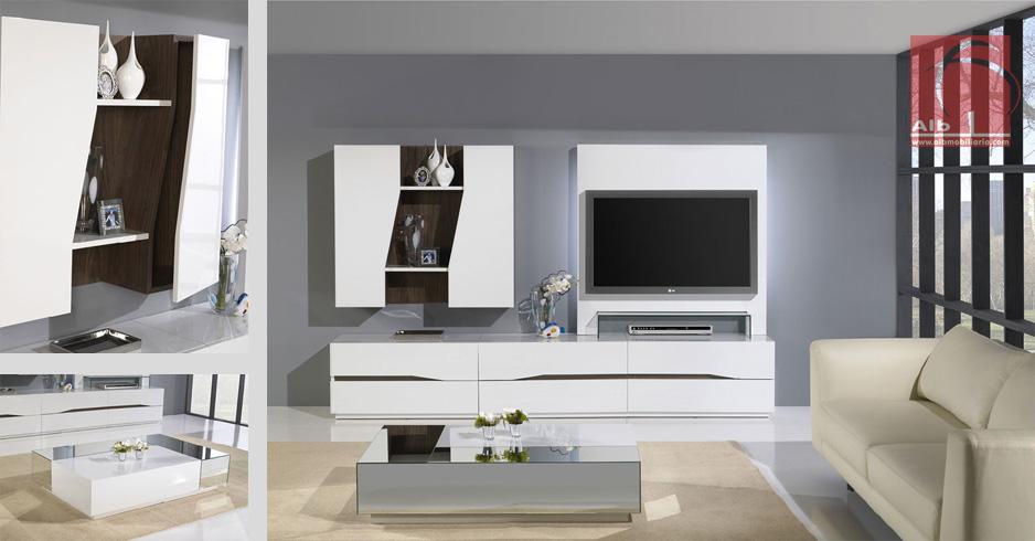 Sala de estar alb mobili rio e decora o for Muebles de sala de estar modernos