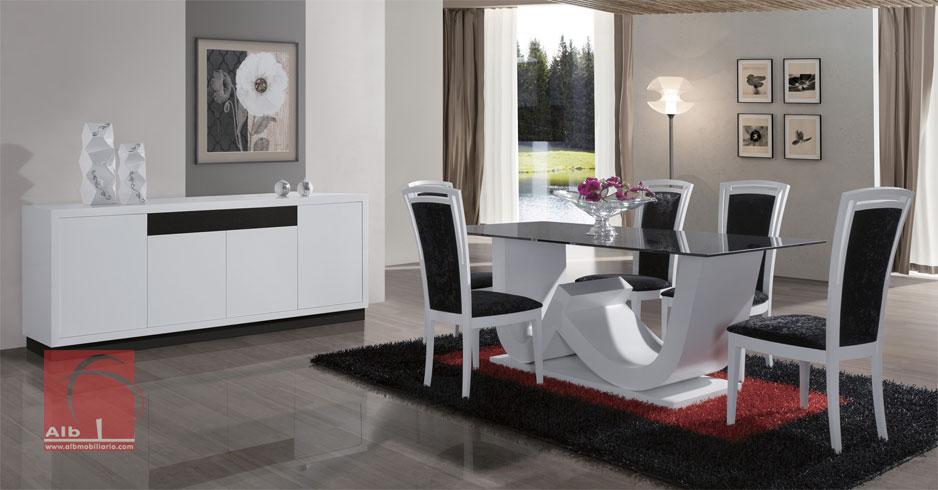 Sala de jantar loja online m veis 1019 1 alb mobili rio e decora o pa os de ferreira - Mobiliario on line ...