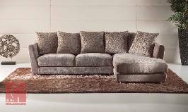 Sofa chaiselongue de 2 ou 3 lugares em tecido preço barato