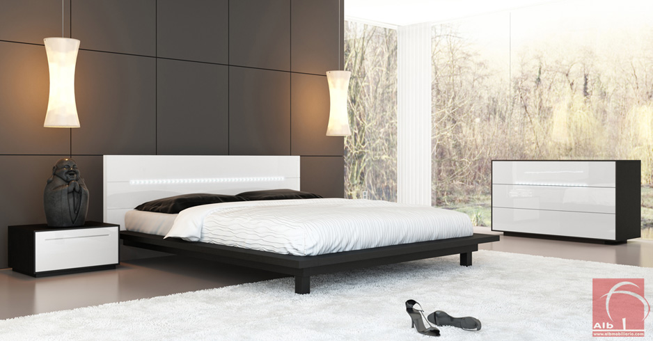 Dormitorio de matrimonio tienda online de muebles diseo 1001 9 alb mobilirio e decorao - Mobiliario on line ...