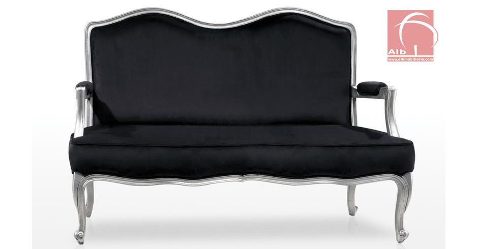 Sillone 2 plazas clasico venta de sillones sillones modernos 1018 3 alb mobilirio e - Sillas y sillones clasicos ...