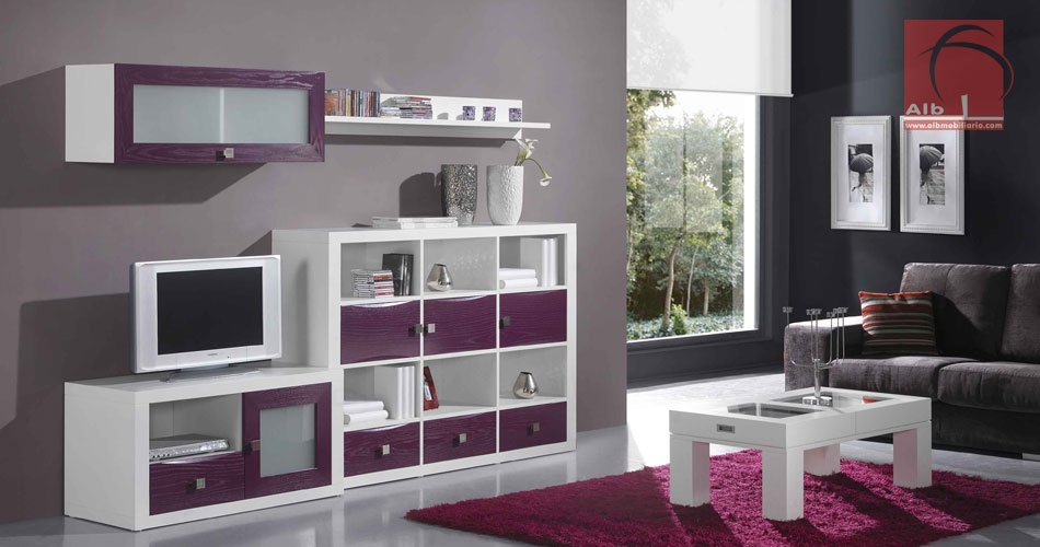 Mueble tv soluciones de espacio para tu saln - Muebles para la television modernos ...