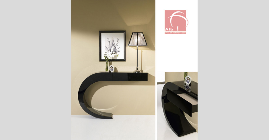 Contemporary Hall Table hallway furniture - contemporary hall furniture | console table