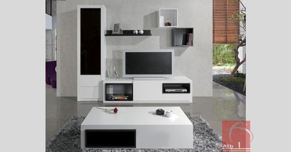 Mueble tv tienda online de muebles alb - Mueble de sala para tv ...