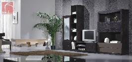 Estante para sala de estar com TV em Wenge ou carvalho