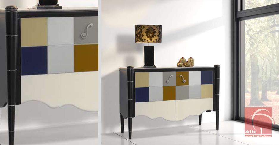 Mueble recibidor consola moderna para recibidor 1004 - Muebles hall modernos ...