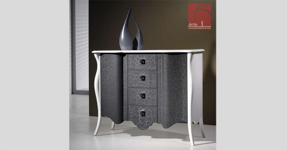 C moda de entrada consola de hall com gaveta modernas alb mobili rio e decora o - Comodas para entradas ...