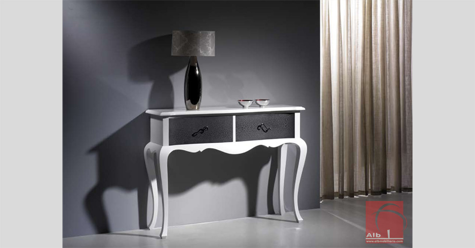 Mueble recibidor consolas y taquillones de estilo tienda online alb mobili rio e - Taquillones de entrada ...