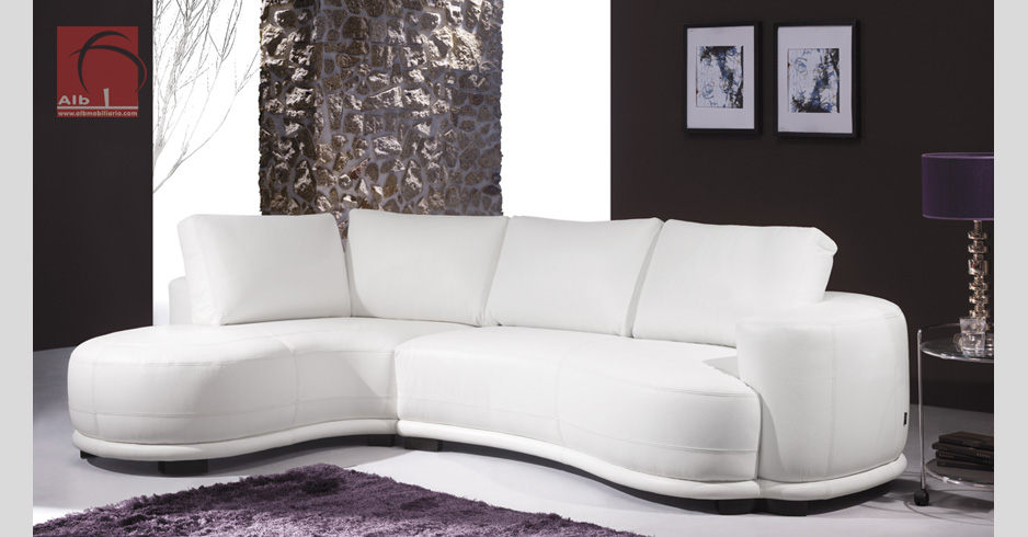 Sofas chaise longue modernos simple sof con chaise longue - Sofas modernos fotos ...