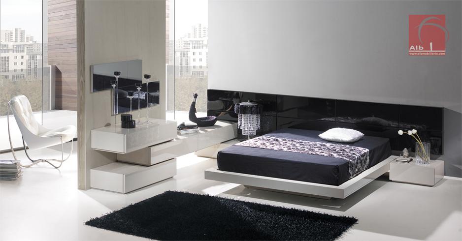 Dormitorio de matrimonio cabeceros camas cabeceros for Dormitorio matrimonio negro