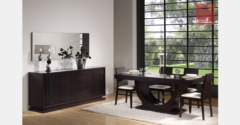 Muebles modernos para salon beautiful mueble de saln para for Buffet comedor minimalista