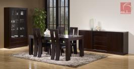 Salas de Jantar Modernas   Sala de Jantar com Vitrine