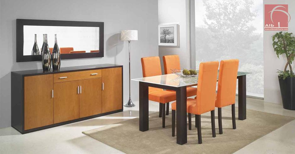 Sala de jantar moveis salas mesa para sala - Aparadores de diseno moderno ...