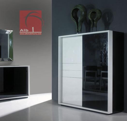 Mueble comedor 1005 7 alb mobilirio e decorao paos - Mueble bar moderno ...
