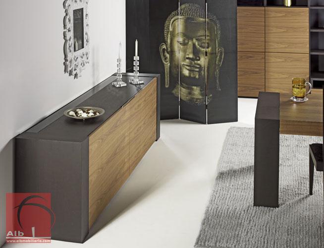 Sala de jantar alb mobilirio e decorao paos - Aparadores de diseno moderno ...