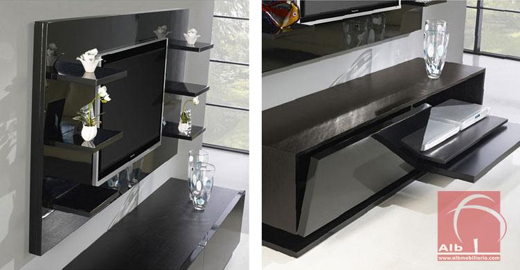 Mueble de saln modernos muebles para el televisor - Mueble tv plasma ...
