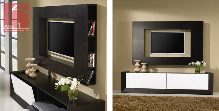 Mueble de saln muebles modernos de saln hogar 1005 for Muebles modulares modernos