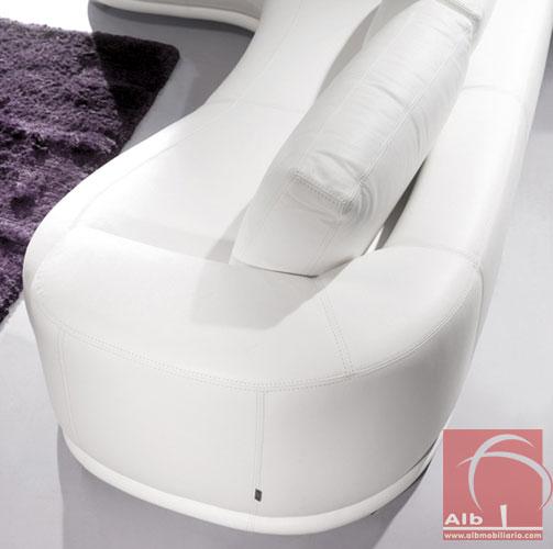 Sof chaise longue sofs modernos sofs de canto sofs - Sofas italianos modernos ...