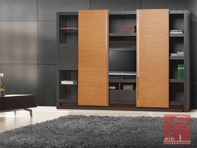Mueble de saln modernos muebles para el televisor for Muebles de sala de estar modernos