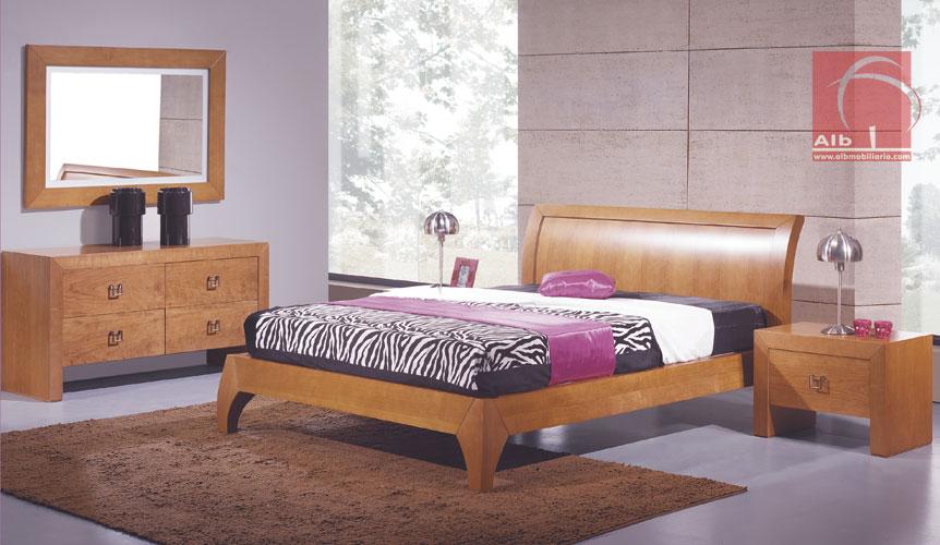 Dormitorio de matrimonio 1004 1 alb mobilirio e for Dormitorios matrimonio color roble