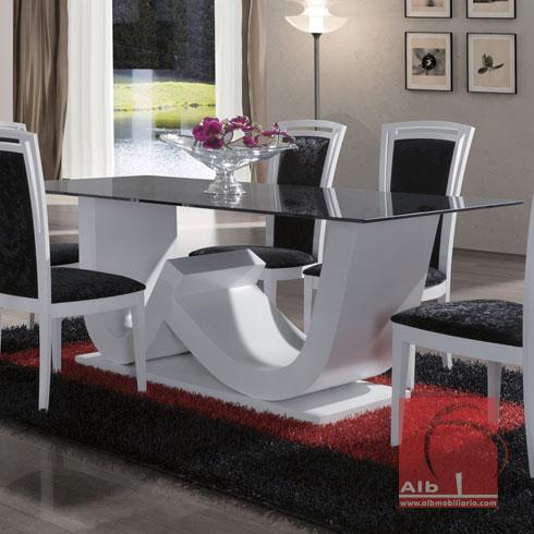 Sala de jantar loja online m veis 1019 1 alb for Mesas auxiliares para sala modernas