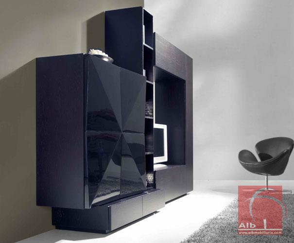 Muebles de televisores modernos cheap muebles tv modernos baratos para y audio salas disecbos - Muebles para televisores modernos ...