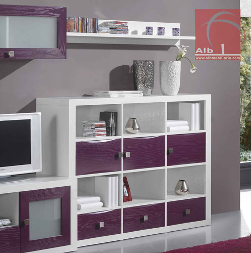 Mueble esquinero para tv moderno for Mueble tv moderno