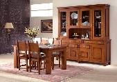dining room table chairs cabinet