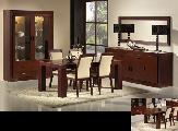 dining room table chairs cabinet sideboard