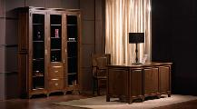 Office desk bookcase lamp