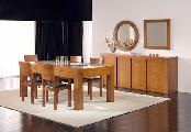 dining room table chairs sideboard