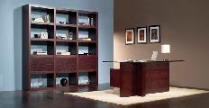 Office desk bookcase