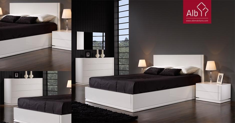 Moderno lacado branco alb mobili rio e decora o pa os for Mobilia quarto casal custojusto