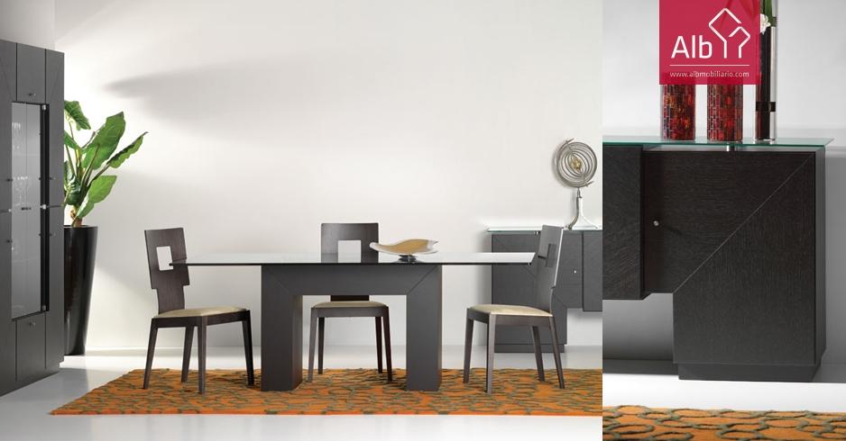 comedores modernos sillas modernas muebles de comedor - ALB ...