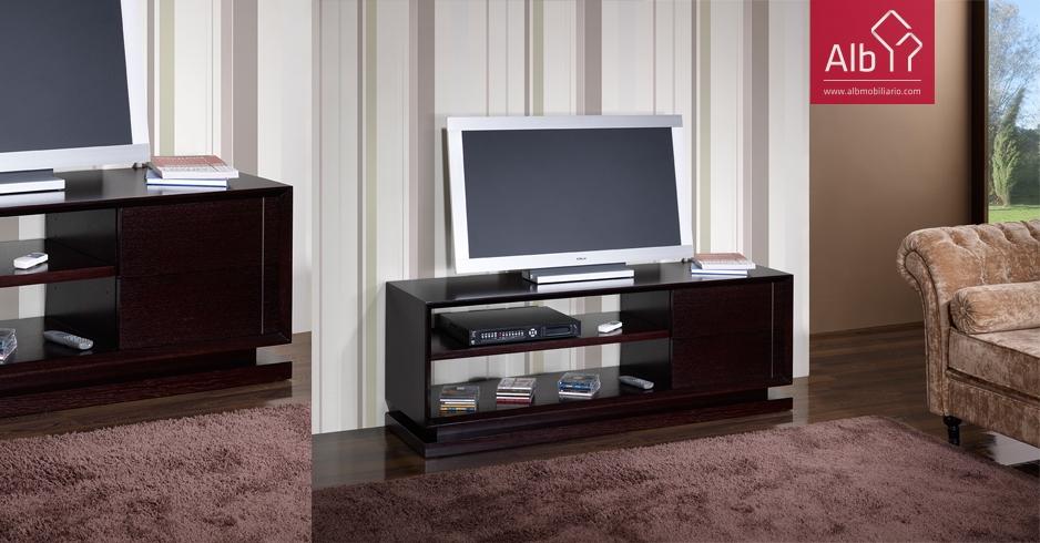 Muebles para el televisor muebles saln de madera venta for Muebles de pladur para salon fotos