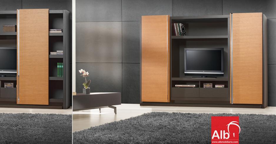Modernos muebles para el televisor a corua alb - Muebles para salas de estar ...