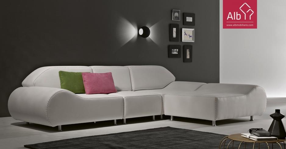 Sofas simples modernos leiria alb mobilirio e decorao for Comprar sofa chaise longue cama