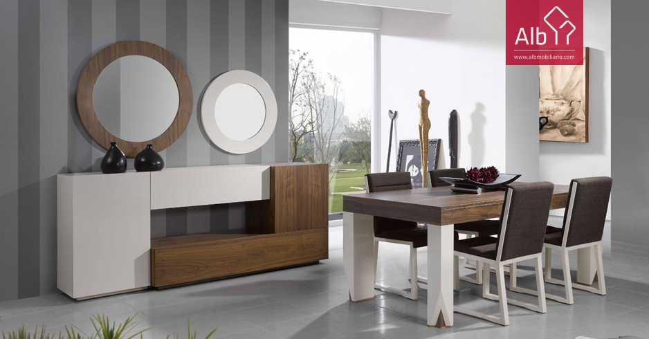 Muebles comedor modernos | Marbella - ALB Mobiliário e Decoração ...