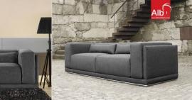 Sofa de 2 ou 3 lugares em tecido preço barato