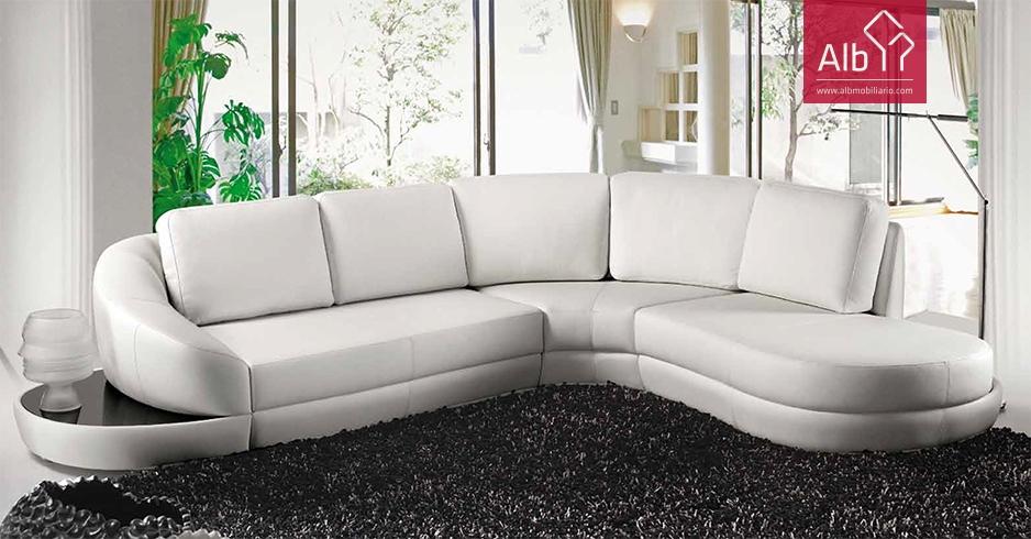 Fotos de sofa rinconera de piel de vaca con chaiselonge for Sofa rinconera de piel