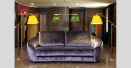 Sofá de 2 ou 3 lugares em tecido